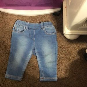 Gucci 0-3 month baby jeans